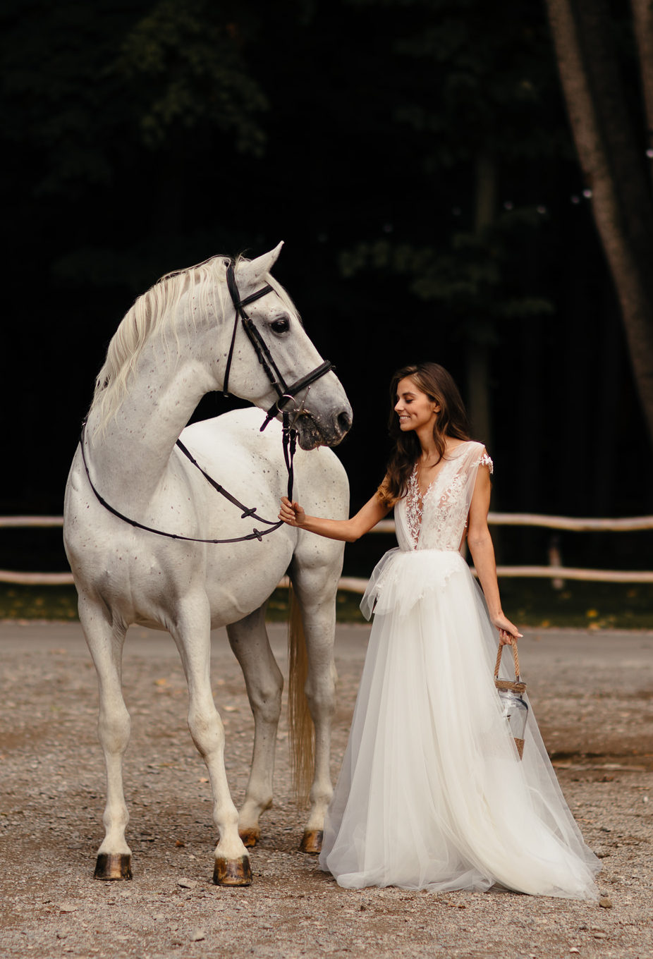 A Real Princess Always Has a White Horse. And a White Dress Of Course