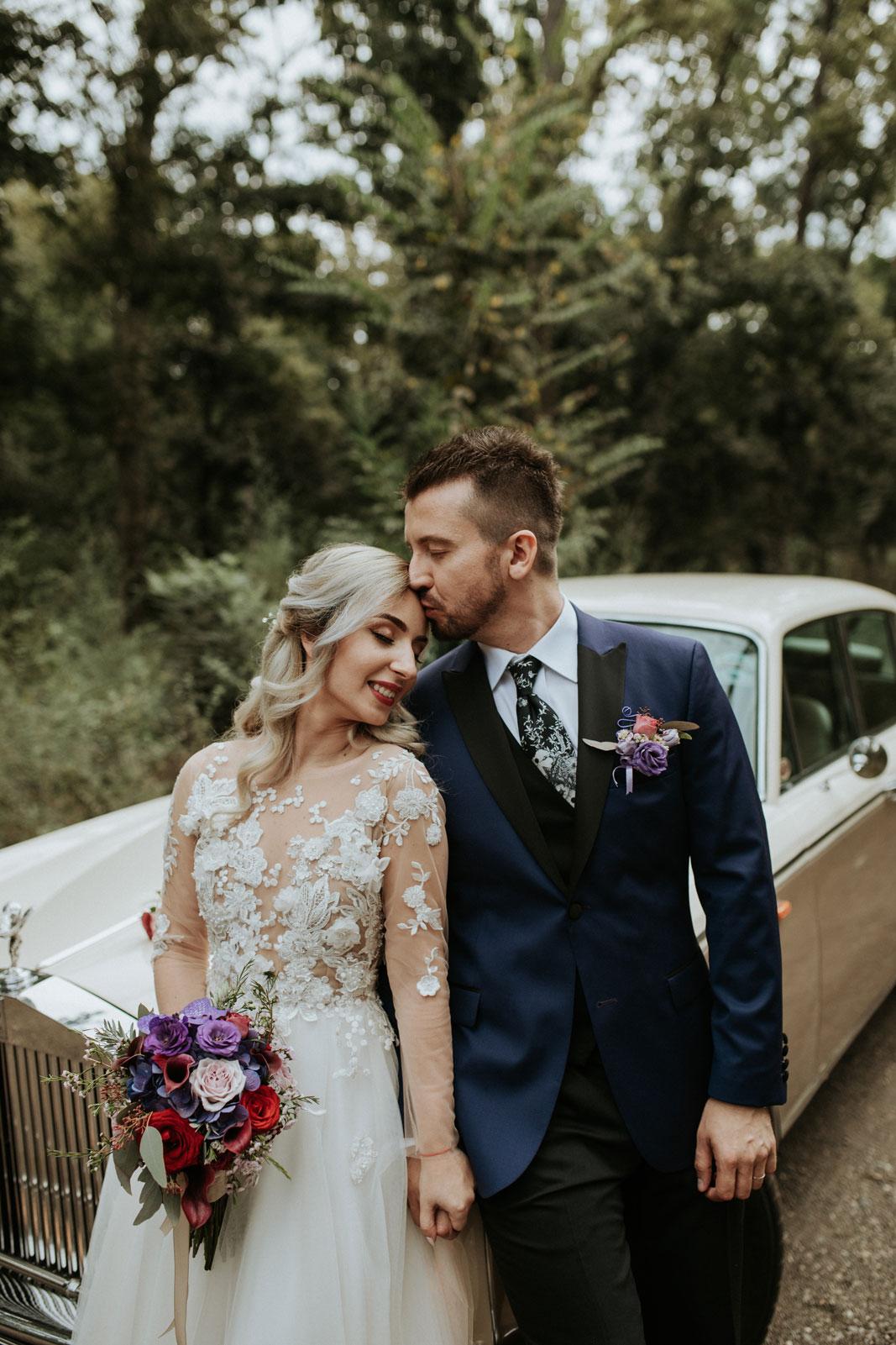 O nunta romantica de toamna in culorile naturii